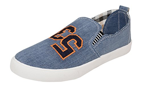 Foot n Style Men's Blue Sneakers - 6 UK  available at amazon for Rs.494