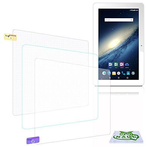 NAUC Bildschirm-Schutz-Folie für Odys Score Plus 3G Schutzfolie 3X klar Universal