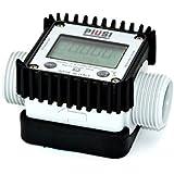 Piusi - Cuentalitros digital para turbina K24 (compatible con agua, urea, adblue, anticongelante)