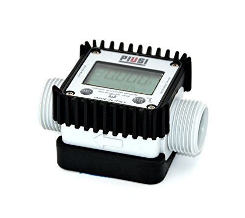 piusi K24compte-litres a turbina visualizzazione Digital per acqua, Urea, Adblue, antigelo