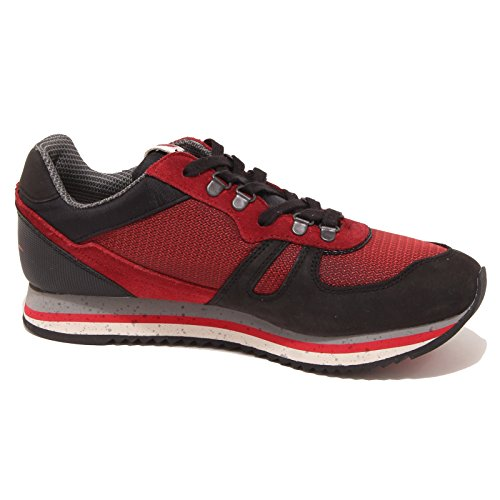LOT homme LEGEND faibles sneakears FUJI S0108 Rosso - nero