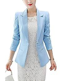 Amazon.es  botones para abrigos - Trajes y blazers   Mujer  Ropa 5095ad2d83174