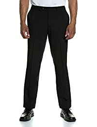 JP 1880 Herren große Größen bis 70 | Anzughose | Büro-Hose in schwarz | Bundfaltenhose mit verstellbaren Bund | Schnurrwoll-Qualität | Knitterfrei & Pflegeleicht | 705516
