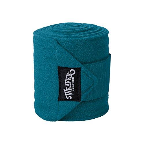Weaver Leder Polo Bein Packungen, türkis, 4-Pack