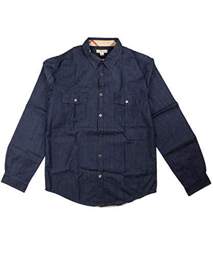 BURBERRY Hemd - dunkelblau, Größe:6 Jahre / 116