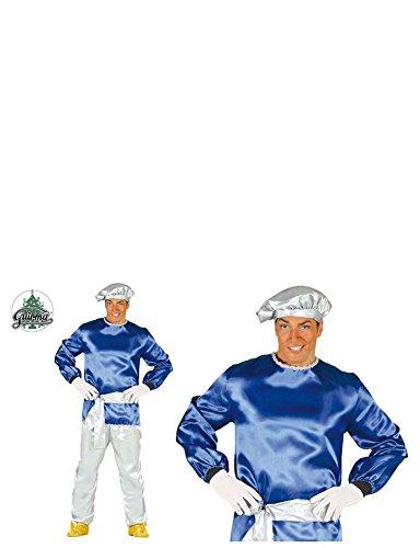Imagen de disfraz de paje rey blanco adulto