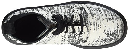 Dr. MartensPASCAL Painter WHITE/BLACK - Stivali Donna Bianco