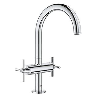 Grohe Atrio 21019003  Chrome   Bath Tap Wash Basin Mixer DN 15L Size