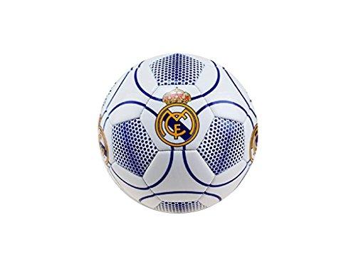 Real Madrid Balón Fútbol Oficial Blanco y azul RM7GB3