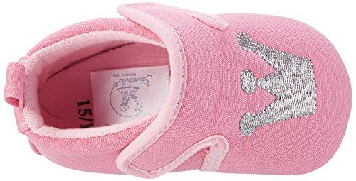 Sterntaler Baby-krabbelschuh, Chaussons pour enfant bébé fille Pink (Mandelblüte)