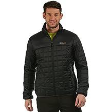 Regatta de hombre Highfell II chaqueta impermeable con aislamiento de lana de alpaca–negro (rmn06380016/17)