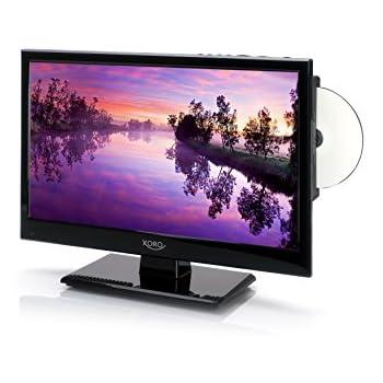 Xoro HTC 1546 40 cm (15 Zoll) LED Fernseher (HD/PVR Ready, Triple Tuner DVB-S2/T2/C, H.265/HEVC-Decoder, DVD/Mediaplayer, USB 2.0, Timeshift, 12 V)