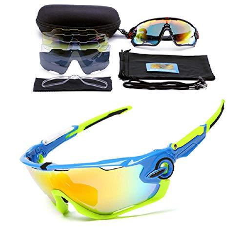 CHENHUI Brille Polarisierte Radfahren Brille männer Fahrrad Outdoor Sports Fahrrad Sonnenbrille Brille 5 Gruppen von linsen Eyewear @ 9