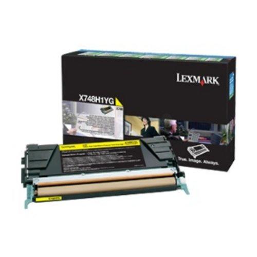 Preisvergleich Produktbild Lexmark X748H3YG Tintenpatrone für X748 gelb