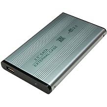 Logilink Case Esterno per HDD 2,5, USB2.0 SATA, Nero - 1.5 Case