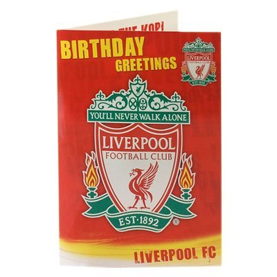Liverpool F.C. Musical Birthday Card RY