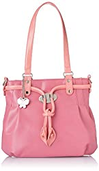 Butterflies Handbag Pink (BNS 0384)