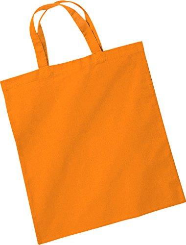 CreativeMinds UK , Damen Tote-Tasche Orange