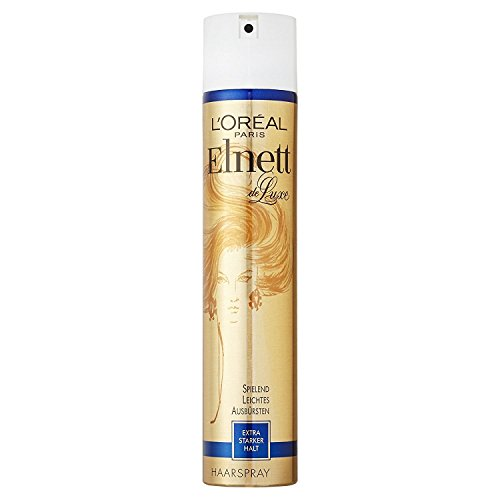 Loreal Paris Elnett De Luxe Extra Strong Hold Hair Spray 400 ml with Ayur Product in Combo  available at amazon for Rs.943