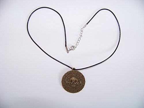 Fluch der Karibik Halskette Elizabeth Swann + eine kleine Überraschung im Set , Medallion , Farbe: (Kostüme Karibik Der Piraten Elizabeth)