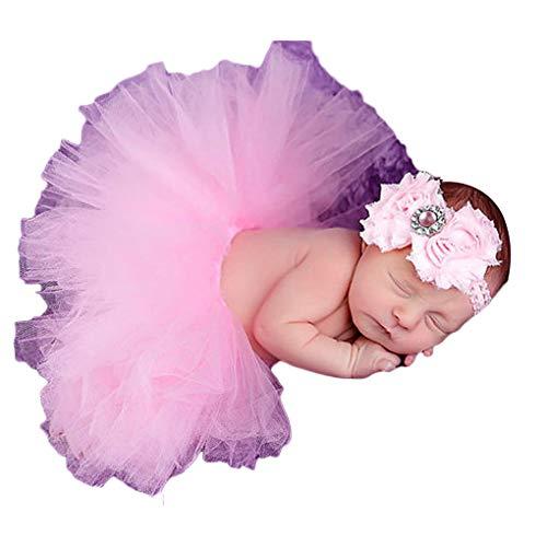 Neugeborenes Schießen Kostüm Retrorock Outfit Passende Haarreif Säuglings-Baby-Fotografie Props