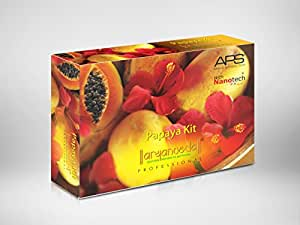 Aryanveda Unisex APS Papaya Facial Kit All Skin Type (510 gm)