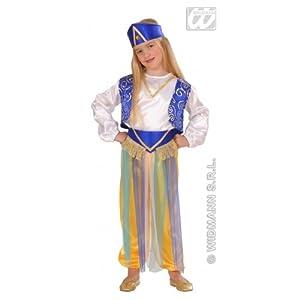 WIDMANN Arabian - Disfraz de princesa del cuento de hadas para niña, talla 104 (4912G)