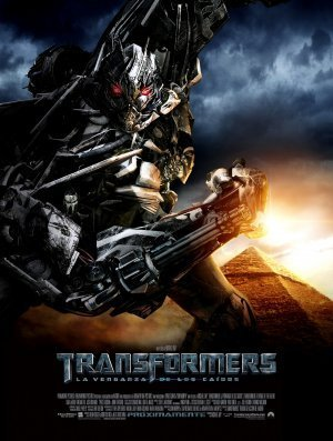 TRANSFORMERS 2 : REVENGE OF THE FALLEN – Megatron – Mexican Imported Movie Wall Poster Print - 30CM X 43CM Brand New (Poster Megatron)