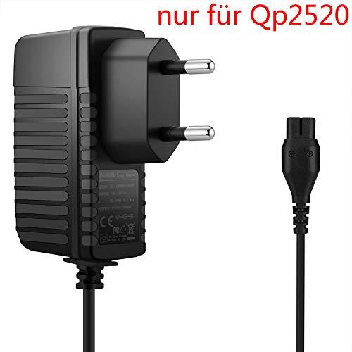 Aukru 4.3V QP2520 Netzteil Ladegerät für Philips Rasierer OneBlade Series QP2520