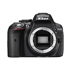 Nikon D5300 24.1 MP Digital still Camera (Black) with Body Only, Card and Camera Bag