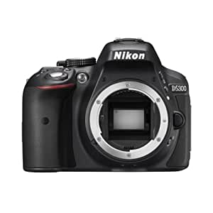 Nikon D5300 24.2 MP Digital still Camera (Black) with Body Only, Card and Camera Bag