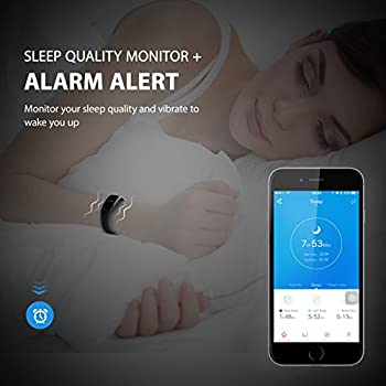 Fitness Tracker, Mpow Heart Rate Monitor Tracker Smart Bracelet Activity Tracker Bluetooth Pedometer With Sleep Monitor Smartwatch For Iphone Samsung & Other Android Or Ios Smartphones For Adults Kids 4
