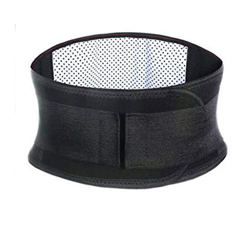 HOUMENGO Faja Lumbar Para Ciática, ProteccióN TéRmica, Terapia De Calor, Angora, Lana, Faja Calienta RiñOnes Bronceado