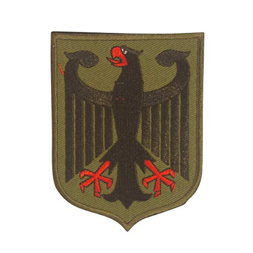 COBRA Tactical Solutions Deutschland Bundesadler Military Besticktes Patch mit Klettverschluss für Airsoft Cosplay Paintball für Taktische Kleidung Rucksack