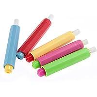 S de Love 5pieza Pizarra Profesores Niños tiza plástico protector de mezcla de colores