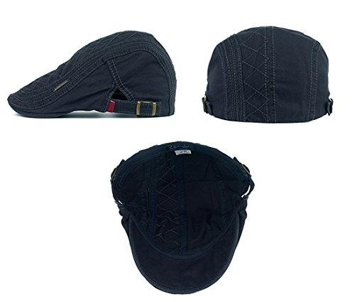 Kuyou Sportmütze Newsboy Flat Cap Gatsby Schirmmütze Kappe (Dunkelgrau) bei  Günstig Shoppen Online Shopping machen. f207cba0a0