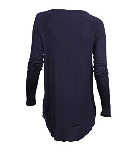 American Vintage Damen Shirt Alba in Dunkelblau Navy