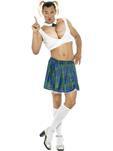 Smiffys 45963l sexy school girl costume (large)