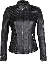 Amazon.it  giubbino donna - Giacche   Giacche e cappotti  Abbigliamento e57955be49f