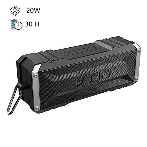 Altavoz Bluetooth Vtin Punker 20W con radiador pasivo por 24,98€ ¡¡32% de descuento!!