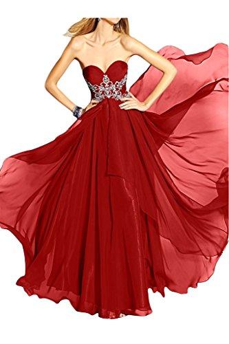 Ivydressing - Robe - Trapèze - Femme Rouge - Rouge