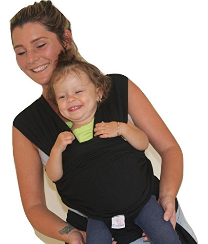 Baby Wrap Sling Stretchy Carrier Newborn Breastfeeding Breathable birth-3 Years Free Hat And Scratch Mittens 95{2ff3926c5d466dcc86ba5fec2a916cac3a1eda30cfe4ccf55150f0a86351bbe7} Cotton 5{2ff3926c5d466dcc86ba5fec2a916cac3a1eda30cfe4ccf55150f0a86351bbe7} Spandex/Super Soft And Silky Adjustable Perfect Baby Shower Gift