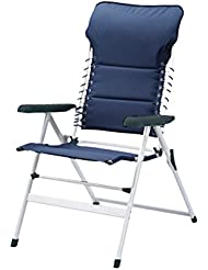 CAMPART Travel CH-0592 - Silla de camping, color azul marino