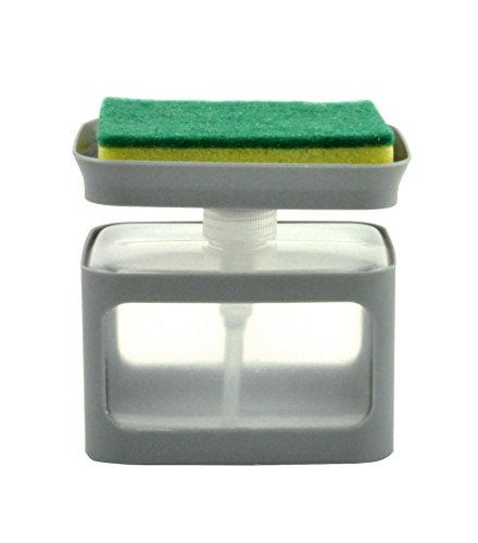 Cecoa Dispensador de líquido lavavajillas, 650ml (bomba + esponja)