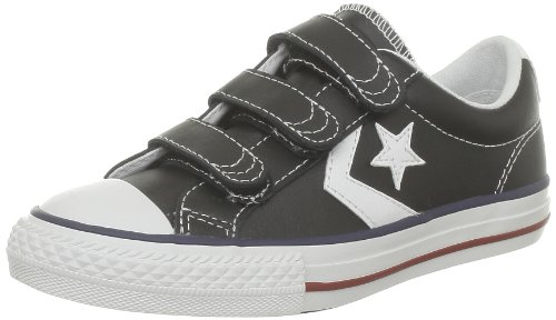 Converse Star Player Ev 3V Lea Ox, Baskets mode mixte enfant