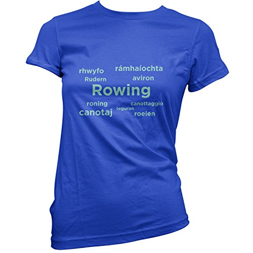 Rowing Languages - Womens T-Shirt - 11 Colours