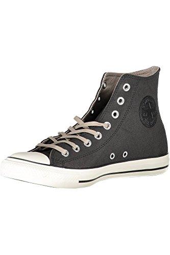Converse Chuck Taylor All Star, Sneaker a Collo Alto Unisex-Adulto NERO BLACK/MALTEDE/GRET