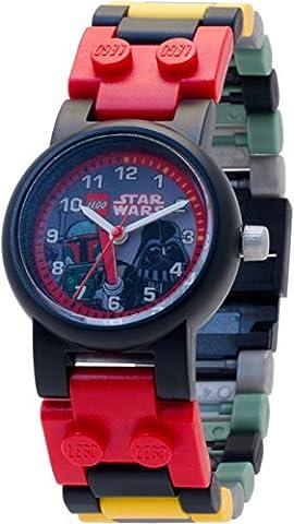 LEGO Star Wars Darth Vader Boba Fett Armbanduhr NEU (ohne Figur)