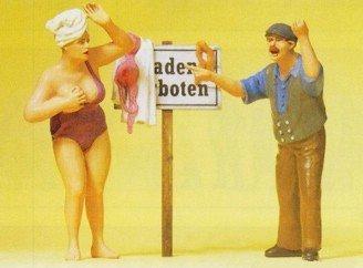Preiser 45128 Baden verboten