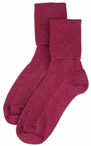 Pringle Cashmere (Cashmere Sock House - Scotland Damen Socken blau hellblau, rosa)